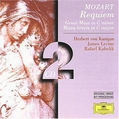 Herbert von Karajan (Герберт фон Караян): Mozart: Requiem; Great Mass in C minor; Missa brev