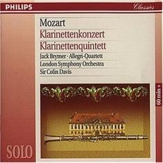 Jack Brymer (Джек Браймер): Mozart: Clarinet Concerto / Clarinet Quintet