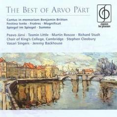 Paavo Jarvi: The Best Of Paert: Fratres, Summa, Magnificat, Cantus