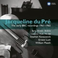 Jacqueline Du Pre (Жаклин Дю Пре): Early Bbc Recordings