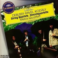 Melos Quartet (Квартет Мелос): Debussy: String Quartet/ Ravel: String Quartet