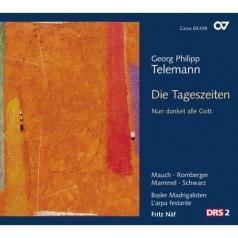 Telemann Georg Philipp (Георг Филипп Телеман): Die Tageszeiten Tvwv 20:39 (Cantatas)