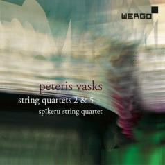 Spikeru String Quartet: Vasks: String Quartets