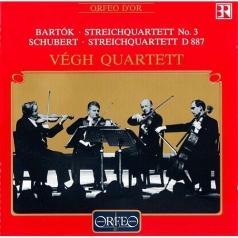 Bbartok, Schubert;Vegh Quartett