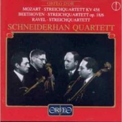 Mozart, Ravel +; Schneiderhan-Qu.