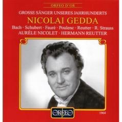 Nicolai Gedda Liederabend