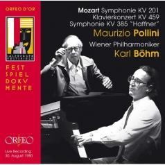 Mozart Klavierkonz.; Pollini, Bohm