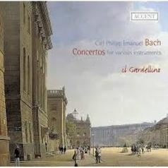 Jan de Winne (Жан Де Винне): Bach, Cpe - Konzerte - Konzert D-Dur, Wq 13/Konzert A-Moll, Wq 170/Konzert  B-Dur, Wq 164 - De Winne/Balssa/Ponseele/Il Gardellino