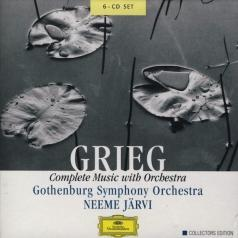 Neeme Järvi (Неэме Ярви): Grieg: Complete Music With Orchestra