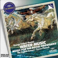 Trevor Pinnock (Тревор Пиннок): Handel: Water Music & Fireworks Music