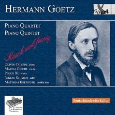 Hermann Goetz/Quartet In E Major Op. 6 &Quintet In C Minor Op. 16/Oliver Triendl, Marina Chiche,Peijun Xu, Niklas Schmidt, Matthias Beltinger