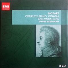 Wolfgang Amadeus Mozart: Mozart: Complete Piano Sonatas & Variations