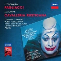 Placido Domingo (Пласидо Доминго): Leoncavallo: Pagliacci/ Mascagni: Cavalleria Rusticana