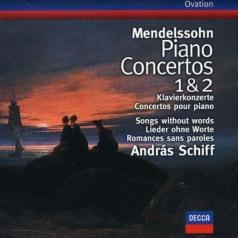 Andras Schiff (Андраш Шифф): Mendelssohn: Piano Concertos Nos.1 & 2; Songs with
