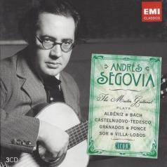 Andres Segovia (Андрес Сеговия): Andres Segovia - The Master Guitarist