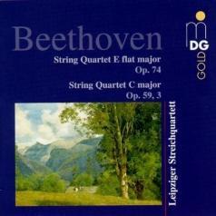 Leipziger Streichquartett (Лейпцигский струнный квартет): String Quartets Opp. 59,3/74