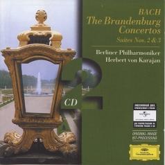 Herbert von Karajan (Герберт фон Караян): Bach: The Brandenburg Concertos; Suites Nos.2&3
