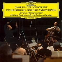 Mstislav Rostropovich (Мстислав Ростропович): Dvorak: Cello Concerto / Tchaikovsky: Variations