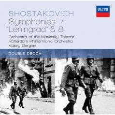 "Valery Gergiev (Валерий Гергиев): Shostakovich: Symphony 7 ""Leningrad""; Symphony 8"
