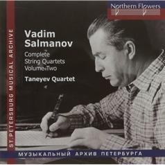 Салманов В. String Quartets Nos.4-6 (Vol.2)