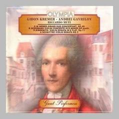 Kremer Gavrilov Muti Weber Schumann Hind