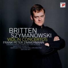 Frank Peter Zimmermann (ФранкПетерЦиммерман): Violin Concertos Nos 1 & 2