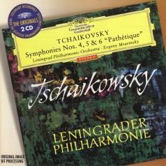 "Evgeny Mravinsky (Евгений Александрович Мравинский): Tchaikovsky: Symphonies Nos.4, 5 & 6 ""Pathetique"""