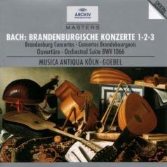 Reinhard Goebel (Рейнхард Гёбель): Bach: Brandenburg Concertos Nos.1, 2 & 3