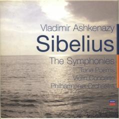 Vladimir Ashkenazy (Владимир Ашкенази): Sibelius: The Symphonies / Tone Poems / Violin Con