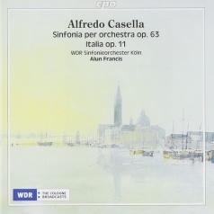 Alfredo Casella: Sinfonia Per Orchestra Op. 63 (Symphony No. 3) Italia Op. 11 (Rhapsody For Large Orchestra)