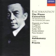 Владимир Ашкенази: Rachmaninov: Piano Concertos