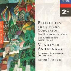 Vladimir Ashkenazy (Владимир Ашкенази): Prokofiev: The Piano Concertos