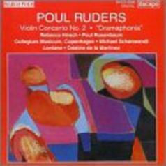 Poul Ruders (Поул Рудерс): Ruders: Violin Concerto 2