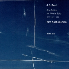 Kim Kashkashian (Ким Кашкашьян): J.S.Bach: Six Suites For Viola Solo