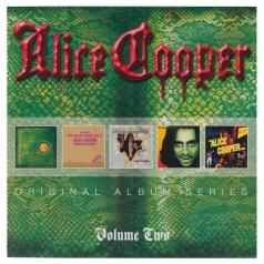 Alice Cooper (Элис Купер): Original Album Series (Billion Dollar Babies / Muscle Of Love / Welcome To My Nightmare / Goes To Hell / The Alice Cooper Show)