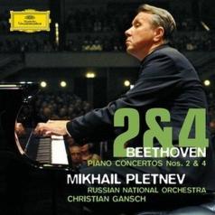 Mikhail Pletnev (Михаил Васильевич Плетнёв): Beethoven: Piano Concertos Nos.2&4
