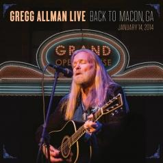 Gregg Allman (Грегг Оллман): Back To Macon - Live