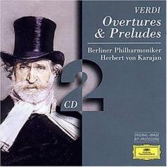 Herbert von Karajan (Герберт фон Караян): Verdi: Overtures & Preludes