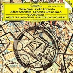 Kremer,Dohnanyi,Wp: Glass:Violin Con/Schnittke: Conc.Gros.N.5