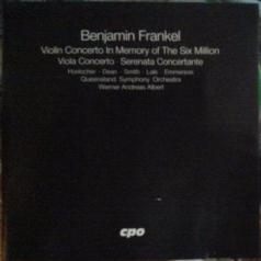 B. Frankel: Violin Concerto