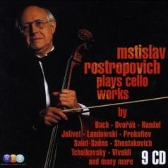 Mstislav Rostropovich (Мстислав Ростропович): Mstislav Rostropovich Plays Cello Works