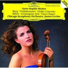 Anne-Sophie Mutter (Анне-Софи Муттер): Berg: Violin Concerto / Rihm: Time Chant