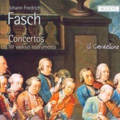 Johann Friedrich Fasch: Concerti From Dresden And Darmstadt