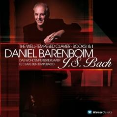 Daniel Barenboim (Даниэль Баренбойм): Well-Tempered Clavier Books 1 & 2