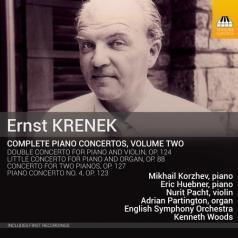 Mikhail Korzhev (Михаил Петрович Коржев): Krenek: Complete Piano Concertos Vol.2