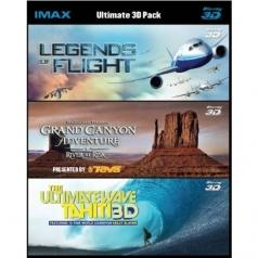 Movie: Legends Of Flight / Grand Canyon / The Ultimate Wave Tahiti 3D