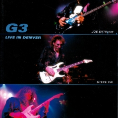 "Steve Vai"" Eric Johnson ""G3: Joe Satriani: Live In Denver"
