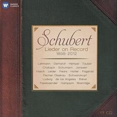Schubert Lieder On Record (1898-2012)