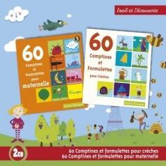 60 Comptines Et Formulettes Pour Creches / 60 Comptines Et Formulettes Pour Maternelle