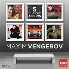 Maxim Vengerov (Максим Венгеров): 5 Classics Albums